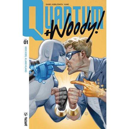 Quantum and Woody! (2017) Volume 1: Kiss Kiss, Klang