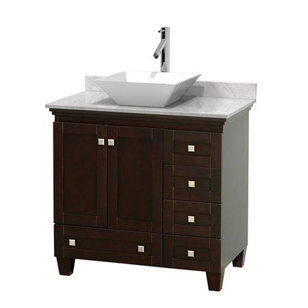 Wyndham Collection Acclaim 36 inch Single Bathroom Vanity in Oyster Gr