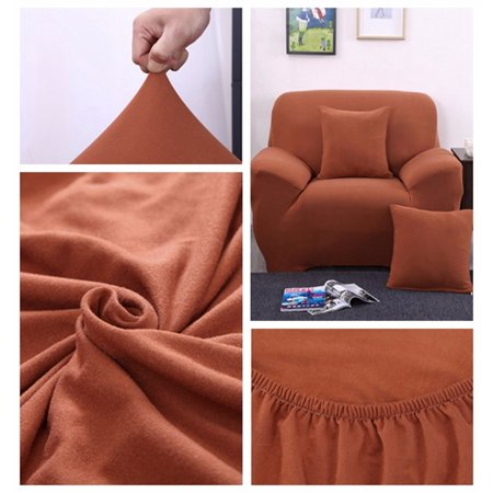 Amazing 1 Seat Elastic Stretch Fabric Sofa Furniture Slipcover Pet Dog Protector Sectional Corner Couch Covers Fit One Seat Sofa Pabps2019 Chair Design Images Pabps2019Com
