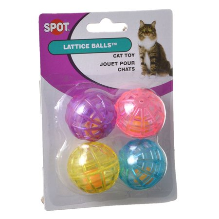 Spot Spotnips Lattice Balls Cat Toys 4 Pack - Pack of 2