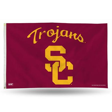 (USC Trojans NCAA 3ft x 5ft Banner Flag)