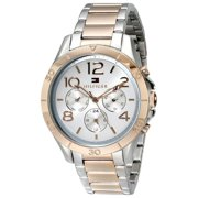 Tommy Hilfiger Women's 1781525 Sophisticated Sport Silver Dial Two Tone Rose Gold Steel Watch
