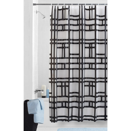Mainstays Elements PEVA Shower Curtain