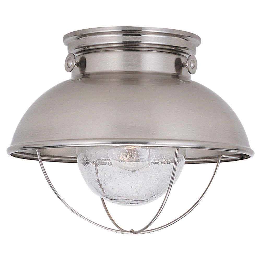 Sea Gull Lighting 8869 Sebring 1 Light Outdoor Flush Mount Ceiling Fixture