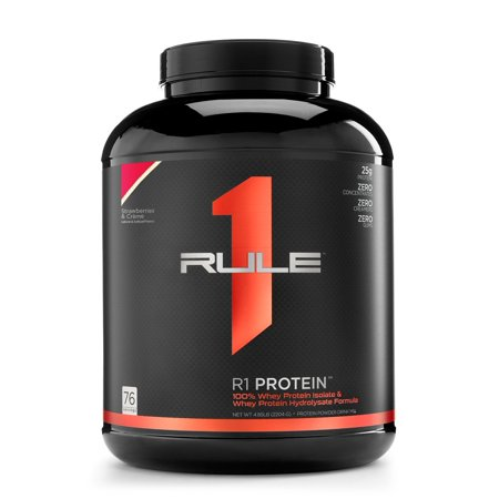 Rule One R1 Protein Rule 1 Whey Isolate 76 Servings Strawberry