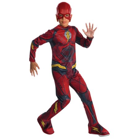 Kids Justice League Flash Costume](Kid Flash Costumes)