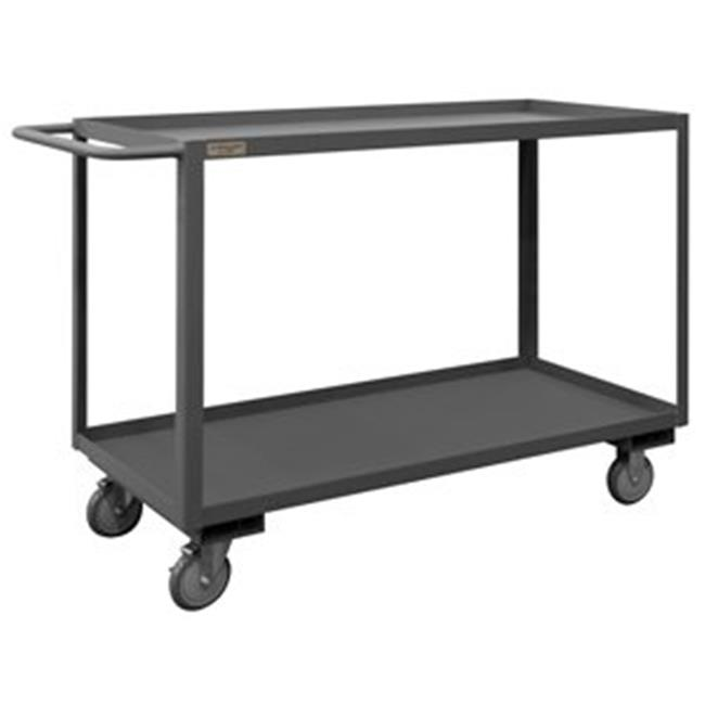 Durham RSC-3036-2-95 38 in. Rolling Service Cart, Gray - 1200 lbs