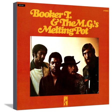 Booker T. & the MGs - Melting Pot Stretched Canvas Print Wall