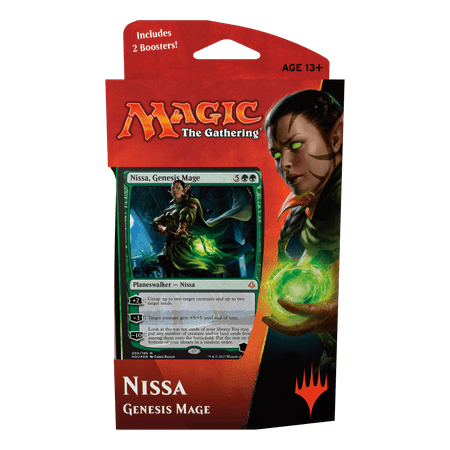 Magic: The Gathering Hour of Devastation Planeswalker Deck - Nissa - A Halloween Related Gathering