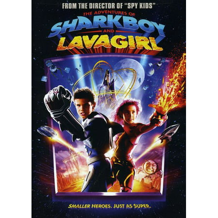 The Adventures of Shark Boy and Lava Girl (DVD) - Pink Girl Movie