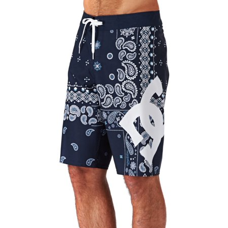 a5048016c3 DC Men's YC Lanai 22 Boardshorts Blue Paisley
