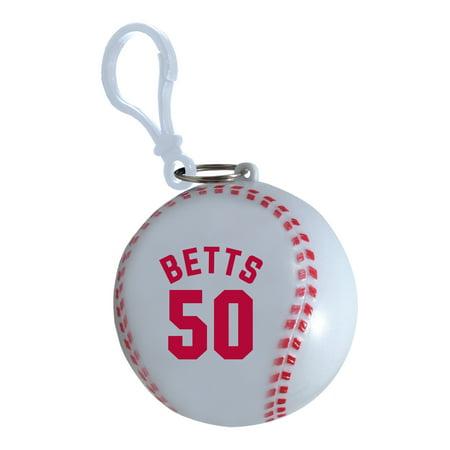 Mookie Betts Boston Red Sox Player Poncho Ball - No (Sox Ball)