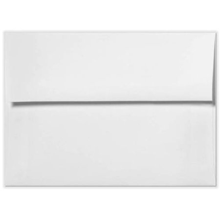 A2 Invitation Envelopes w/Peel & Press (4 3/8 x 5 3/4) - Bright White - 100% Recycled (1000 Qty.)