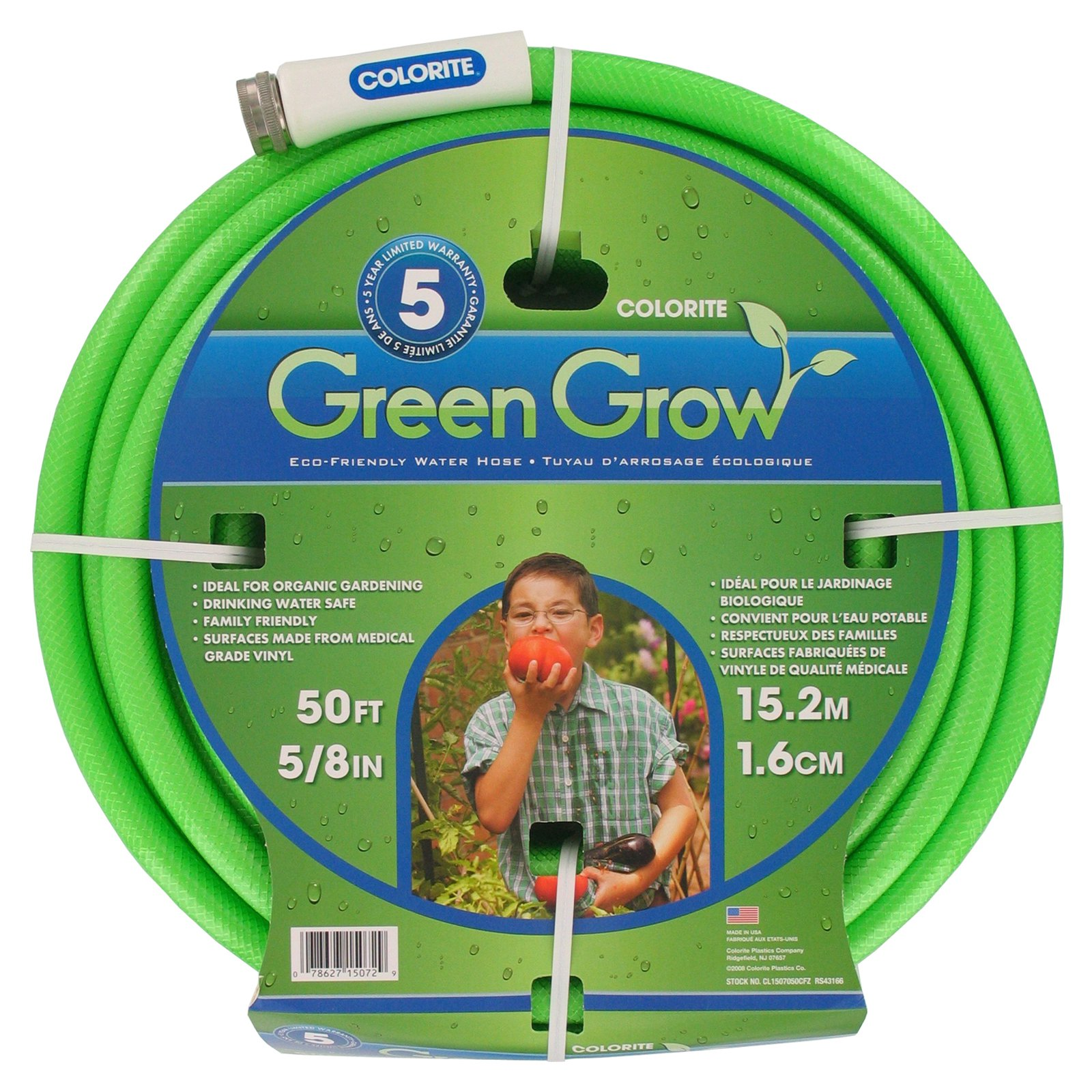 5/8' x 50' Element Green&GROW Lead-Free Hose