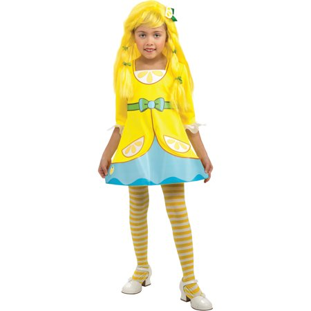 Girl's Strawberry Shortcake Lemon Meringue Costume - Halloween Meringue