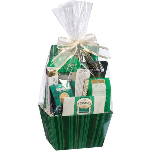 Deck the Halls Basket Holiday Gift Set (Color will vary)