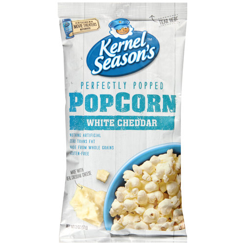 Kernel Season's Perfectly Popped White Cheddar Popcorn, 2 oz