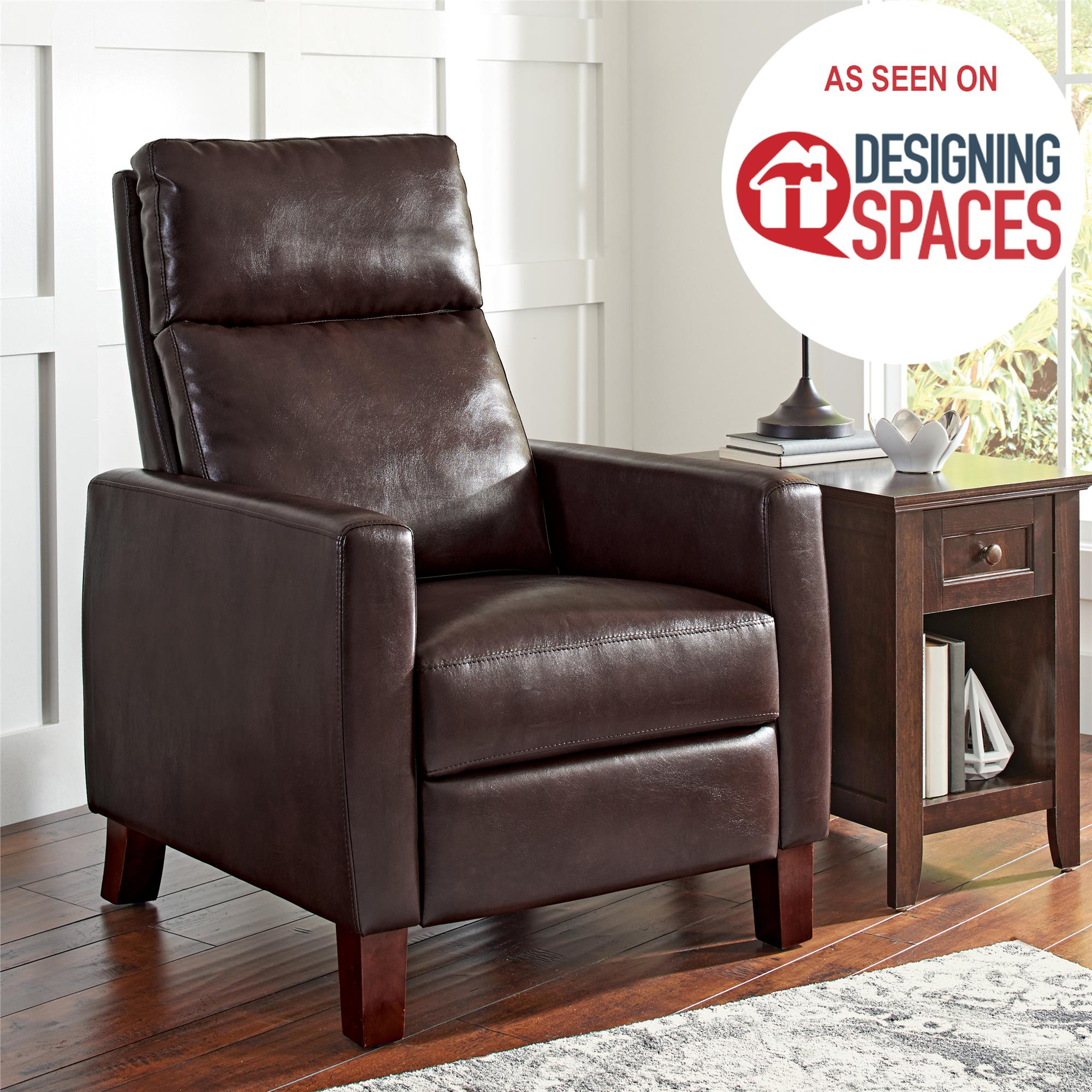 Better Homes and Gardens Adams Pushback Recliner, Multiple Colors