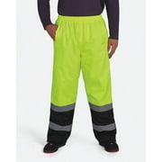 UTILITY PRO WEAR UHV452P-XL-30 Hi-Vis Rain Pants,Black/Hi-Vis Yellow,XL