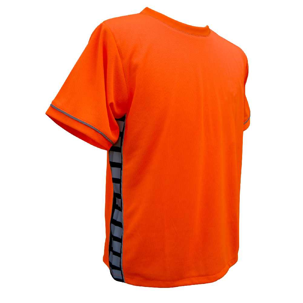 Missing Link Men's Evolution Moisture Wicking Tee Hi Viz Orange PTO