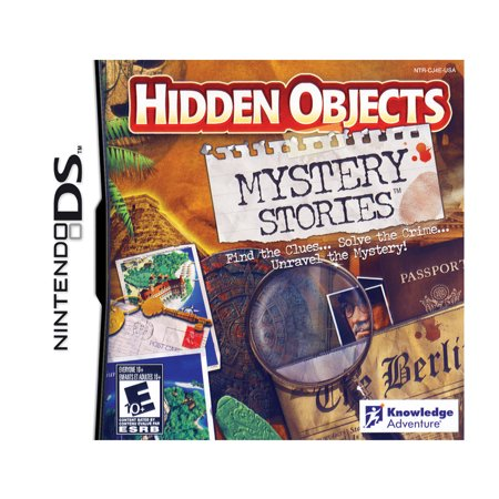 Hidden Objects  Mystery Stories  Nintendo Ds