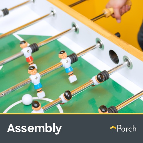 Foosball Table Assembly by Porch Home Services by Porch