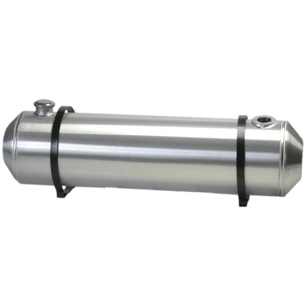 8 Inches X 40 Spun Aluminum Gas Tank 8.25 Gallons With Se...