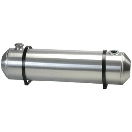10 Inches X 26 Spun Aluminum Gas Tank 8.25 Gallons With Sending Unit Flange For Dune Buggy, Sandrail, Hot Rod, Rat Rod, Trike