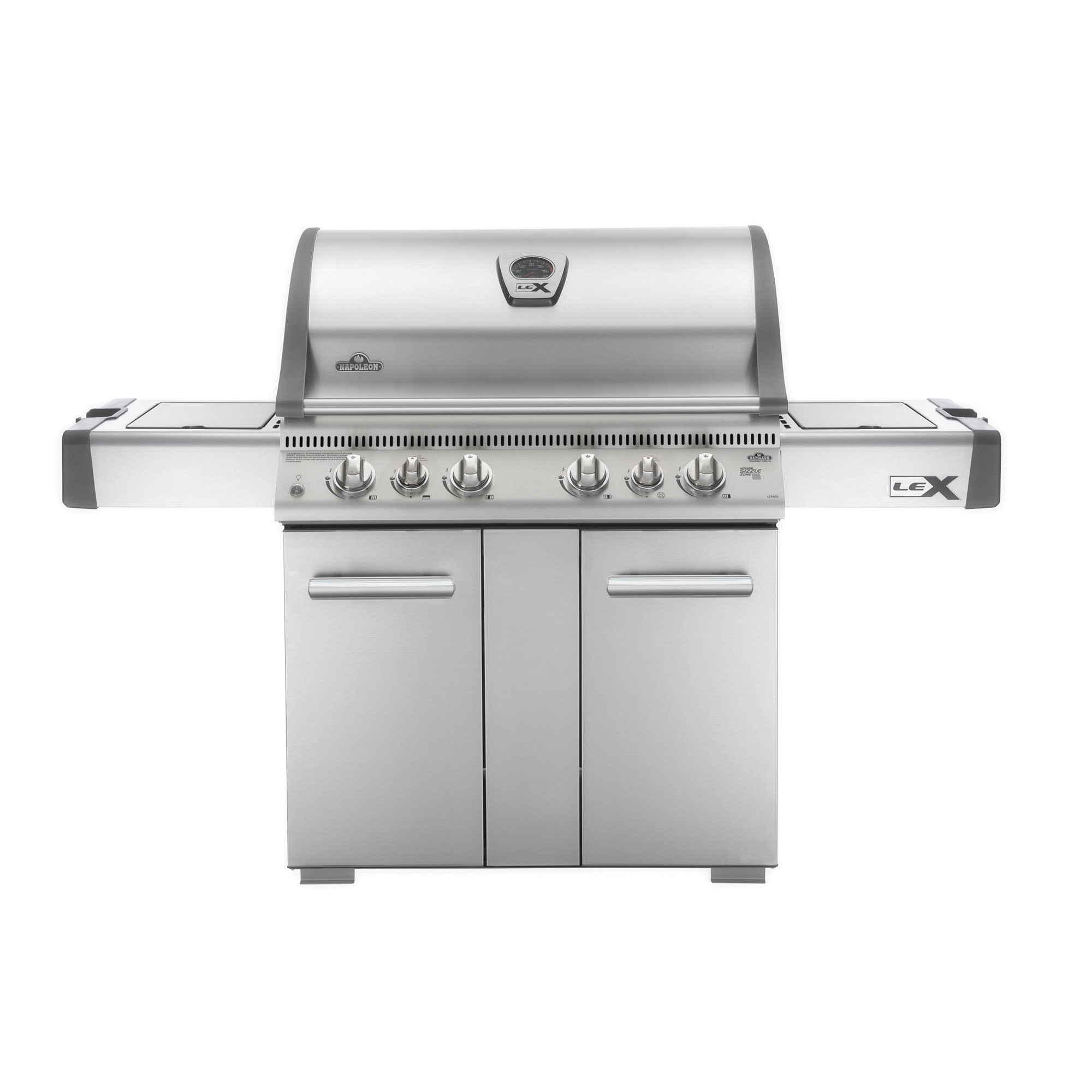 Napoleon 605 Inch Cooking Area Stainless Steel Wheeled Outdoor Propane Gas Grill by Napoleon Products