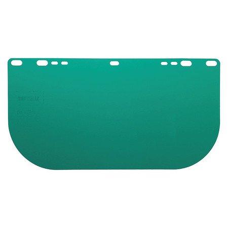 Jackson Face Shield (JACKSON SAFETY 29100 HighImpac Face Shield Polycarbo 8x15.5x.04 Dark GRN Unbound)