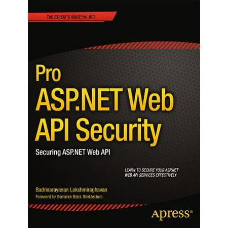 Pro ASP.NET Web API Security : Securing ASP.NET Web