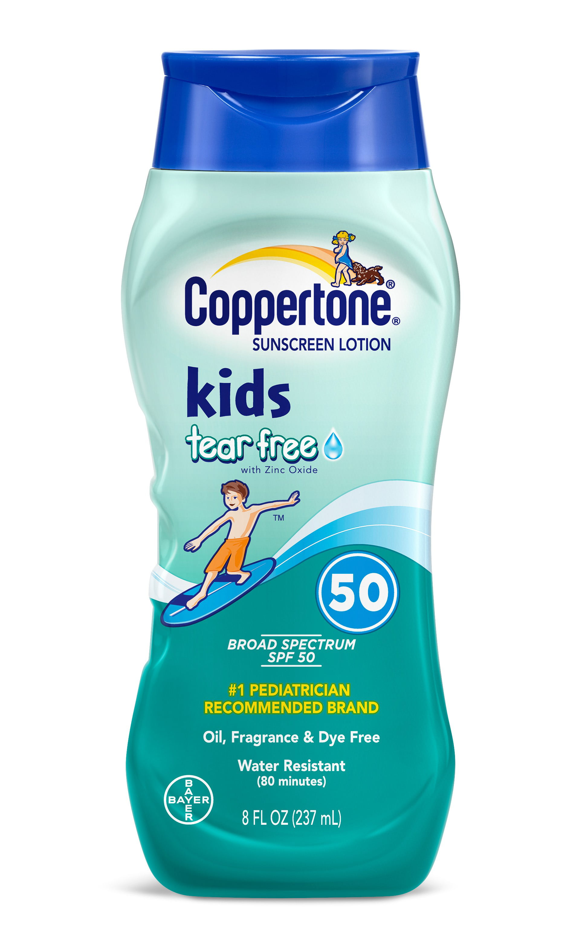 Coppertone Kids Sunscreen Spf 50 8 Fl Oz Walmart