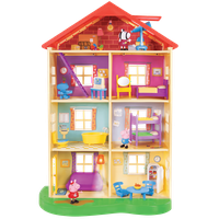 Deals on Peppa Pig Lights and Sounds Family Home 95765