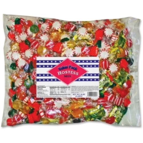 Mayfair Assorted Candy Bag - Grape, Cherry, Lime, Lemon, Cinnamon, Strawberry, Starlight Mint, Butterscotch, Butter Creme - 5 Lb - 1 Bag (mfr-430220)