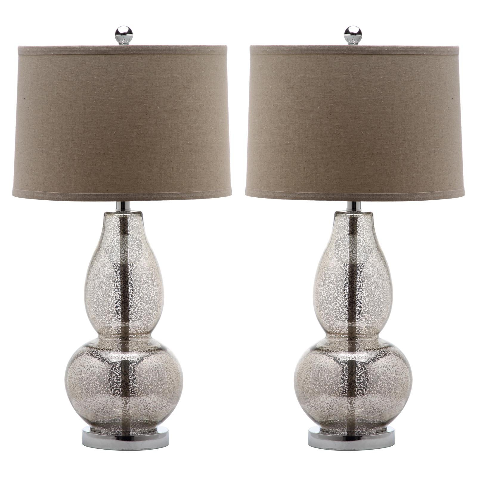 Safavieh Mercurio Lit4155 Double Gourd Table Lamp Set Of 2