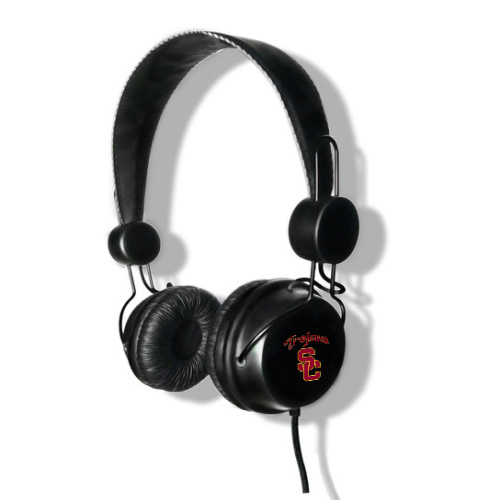 Tribeca Stereo Headphones With Built-in In-Line Microphone - USC Trojans