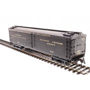 "Broadway Limited 1831 HO Minneapolis & St. Louis 53'6"" Wood Express Reefer #762"