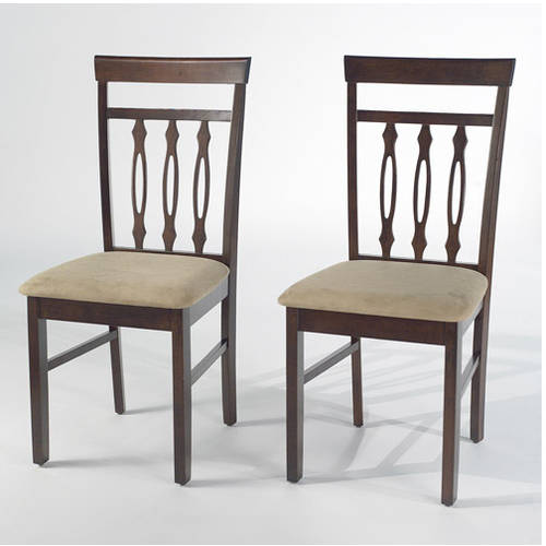 Carson Dining Chairs, Set of 2, Espresso