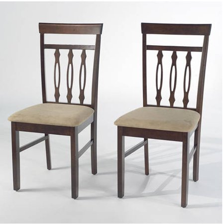 Carson Dining Chairs Set of 2 Espresso Walmart – Carson Chair