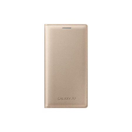 Samsung SA-EF-FA300BFEGWW Flip Cover Case for Galaxy A3 - Gold - image 1 de 1