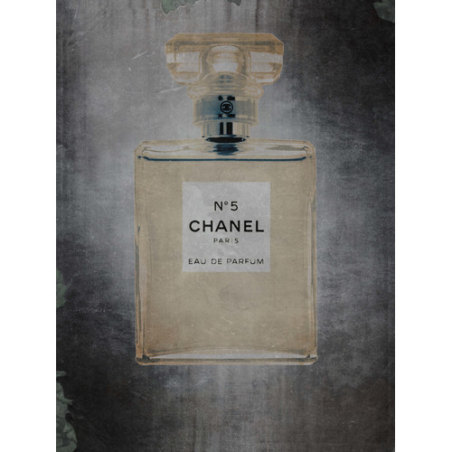 Penny Lane Chanel No.5 Vintage Advertisement on Wrapped Canvas