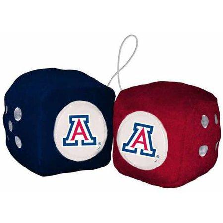 NCAA Arizona Football Team Fuzzy Dice](Uk Wildcats Football)