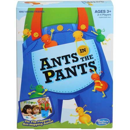 Classic Ants in the Pants Family Game, for Preschoolers Ages 3 and up - Group Games In The Dark