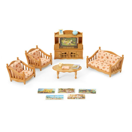 Calico Critters Comfy Living Room Set, Furniture Accessories Calico Critters Frog