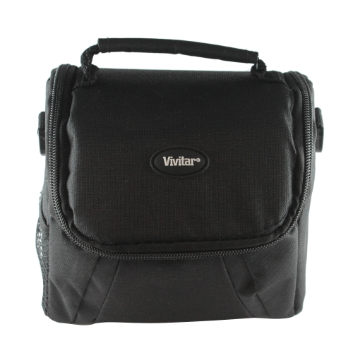 Sony 16GB SDHC Class 10 UHS-1 Memory Card + Vivitar Coco Series Gadget Bag + Battery + Cleaning Kit by Vivitar