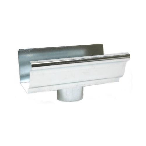 Amerimax 29010 End Piece With Drop For 5-In. Gutter, Mill...