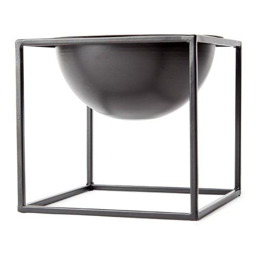 Kure 0.5 ft. x 0.5 ft. Metal Pot Planter