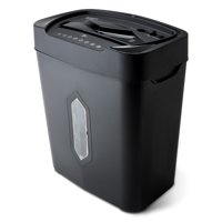 Aurora 12-Sheet Crosscut Paper and Credit Card Shredder with 5.2-gallon Wastebasket