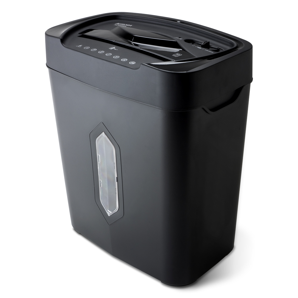 12-Sheet Crosscut Paper and Credit Card Shredder with 4.5-gallon basket