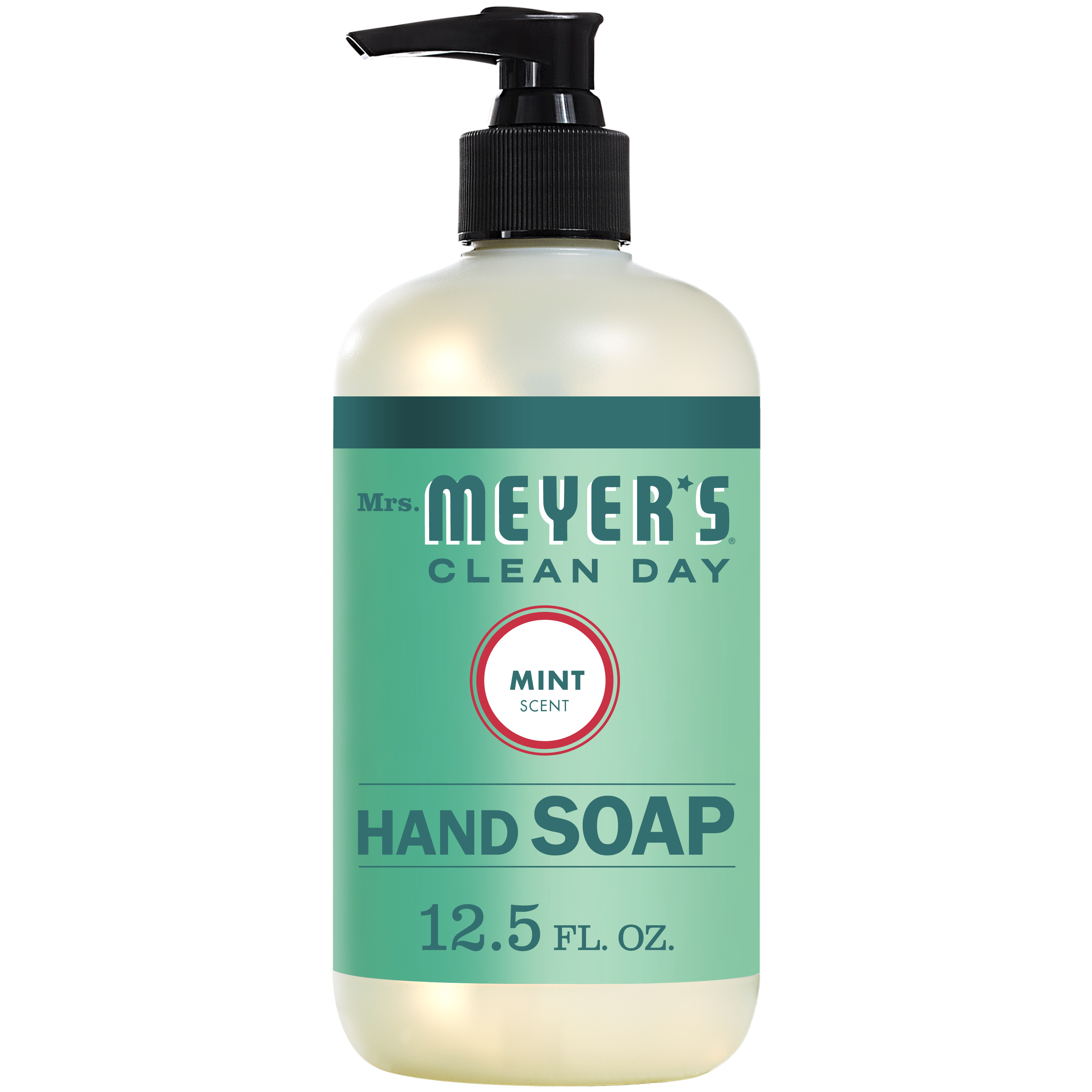 (3 pack) Mrs. Meyer's Clean Day Liquid Hand Soap, Mint, 12.5 Oz